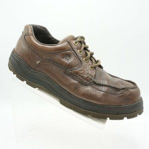 Dunham Size 13 M Brown Leather Oxfords Mens R6B19